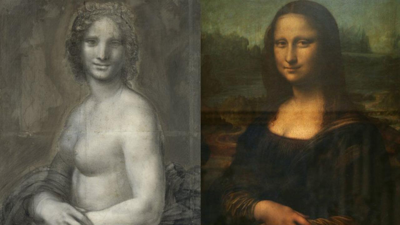 De naakte Mona Lisa