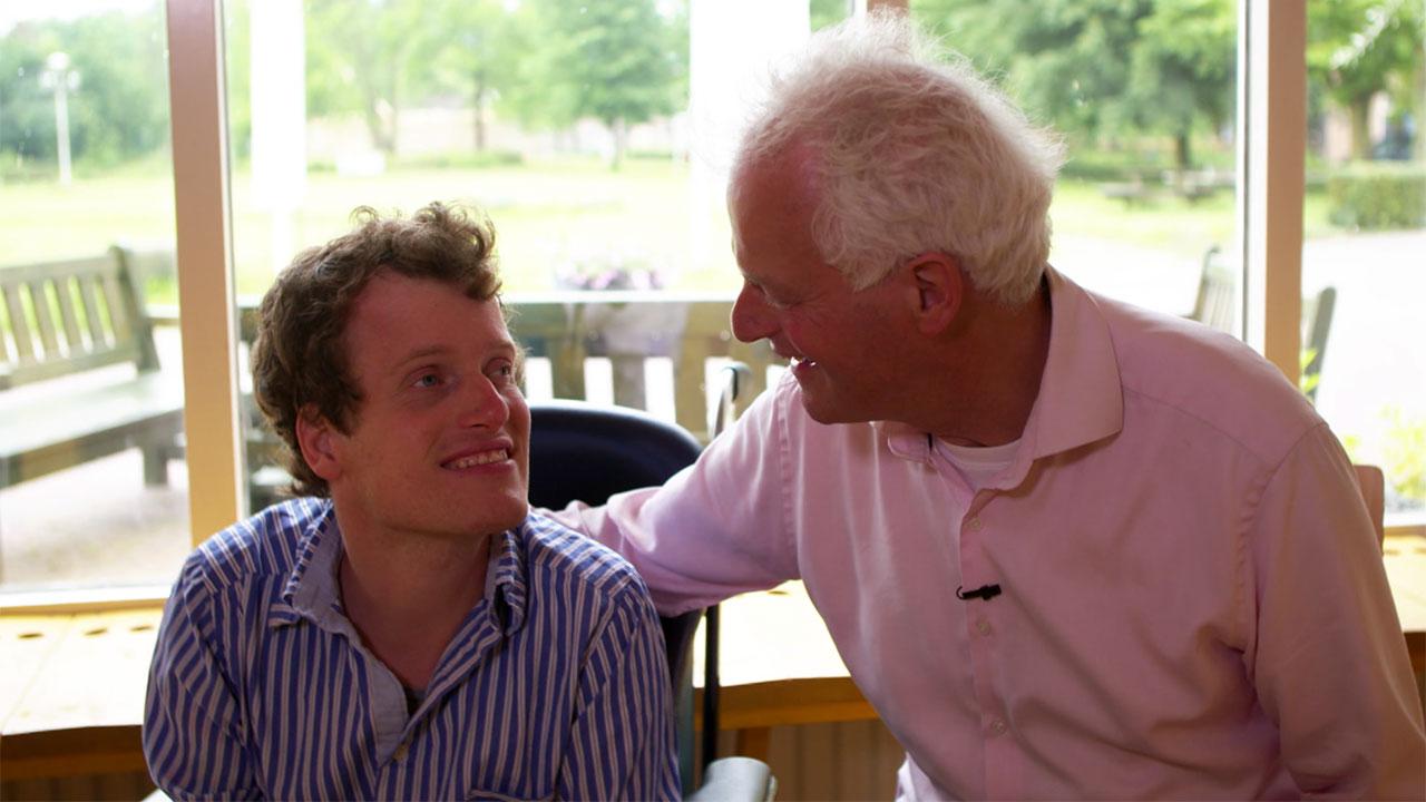 Hans-Christiaan en zijn vader