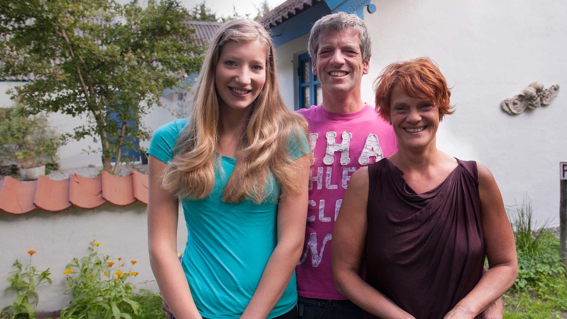 Paula, Peter en Marit