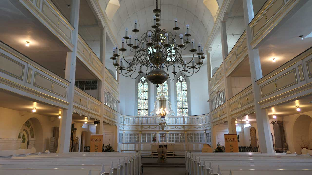De Bachkirche in Arnstadt
