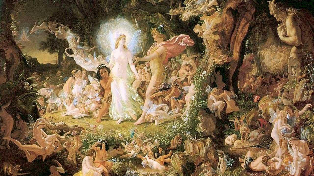 A Midsummer Night's Dream door Sir Joseph Noel Paton