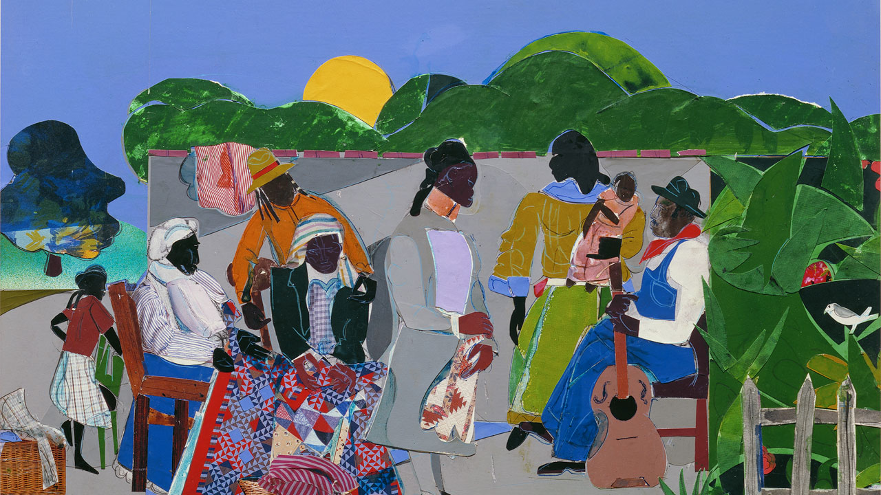 tell-me-your-story--Romare-Bearden---Maquette-for-Quilting-Time.jpg