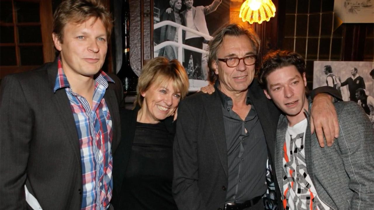 Jan Mulder en zijn gezin