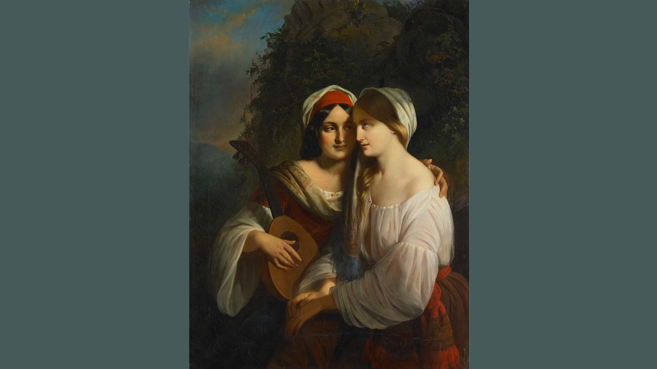 moritz-calisch-twee-vrouwen-in-italiaanse-dracht.jpg